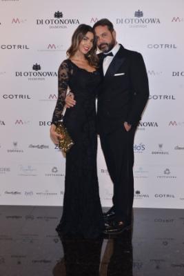 Cecilia Capriotti e il fidanzato Gianluca Mobilia