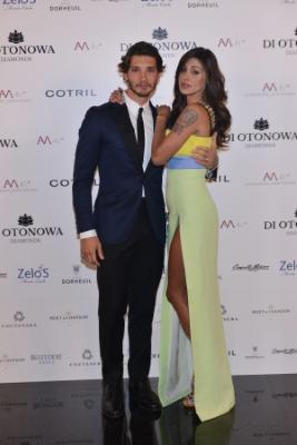 Belen Rodriguez e il marito Stefano De Martino