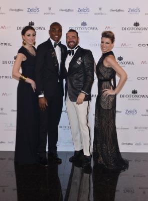 Alessandro Martorana, Elena Barolo, Angelo Ogbonna e la moglie