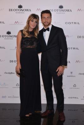 Claudio Marchisio e Roberta Marchisio